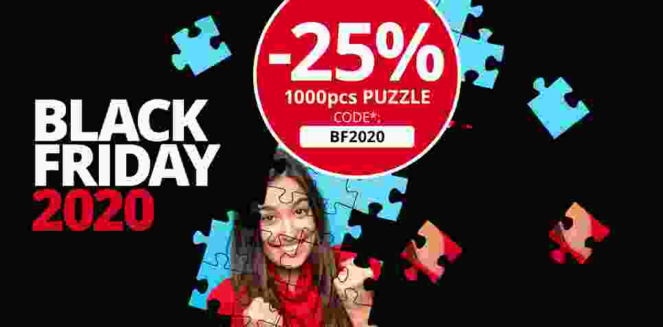 Black Friday shopping at puzzleyou.com