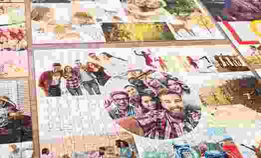 Puzzle Photo pêle-mêle: Aperçu des modèles