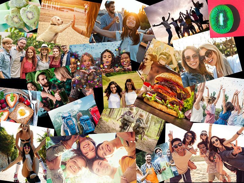 Puzzle Photo pêle-mêle avec Chevauchement 20 Photos