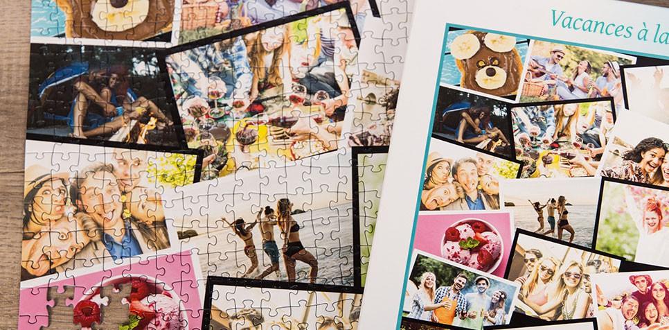 Puzzle Photo pêle-mêle avec Chevauchement