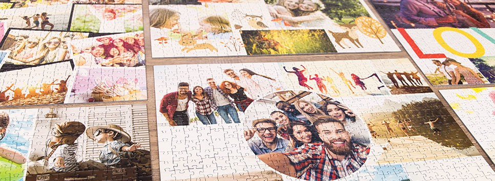 Photo Puzzle Collage Layout Overview