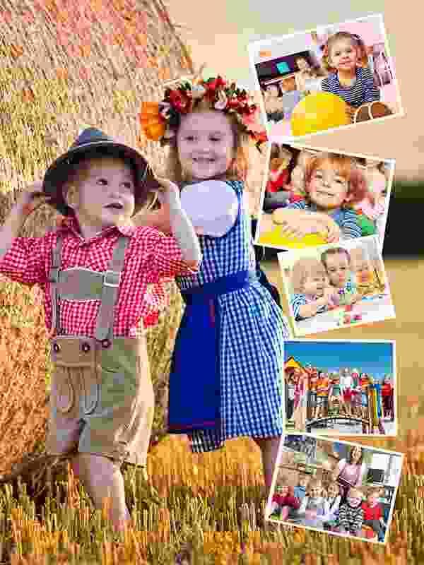 Puzzle Photo pêle-mêle avec Arrière-plan personnel 6 Photos