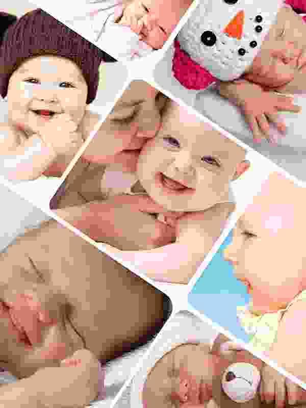 Puzzle Photo pêle-mêle avec Grille artistique 7 Photos